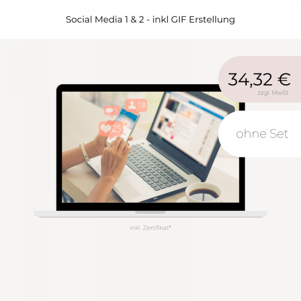 Online Coaching   Social Media   Teil 1 & 2 inkl GIF Erstellung