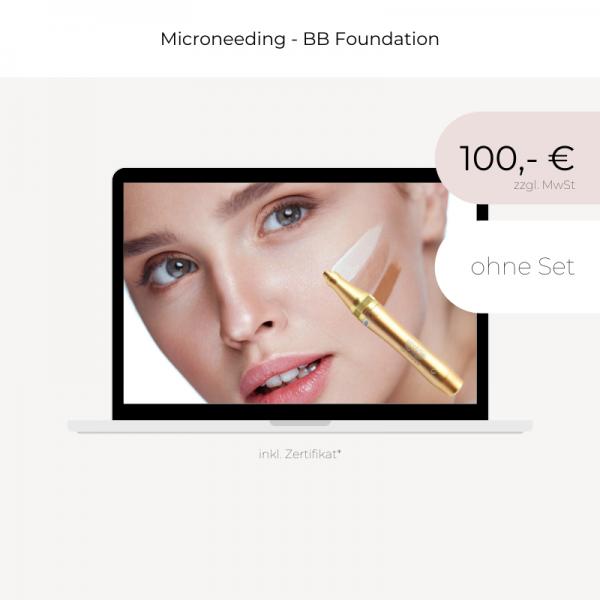 Online Schulung | Microneedling | BB Foundation | ohne Set